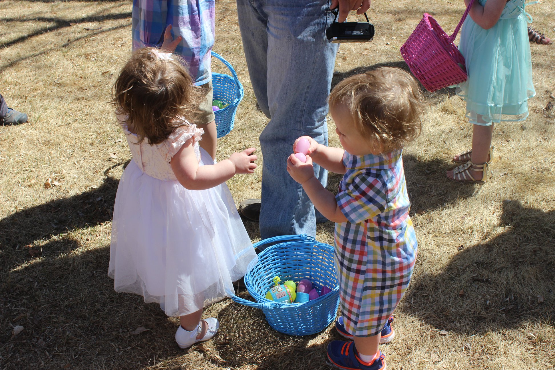 Every age group enjoyed the community Easter Egg Hunt on Saturday in Eads.  (Photo by: Riki Berry Cordova)
