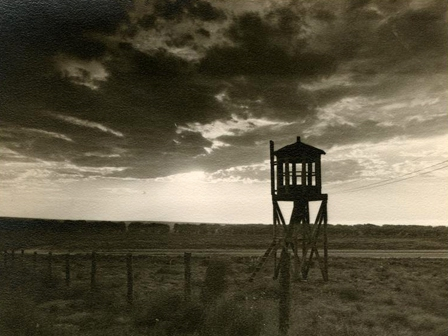 Amache Guard Tower in 1944.  Photo Credit Amache.org