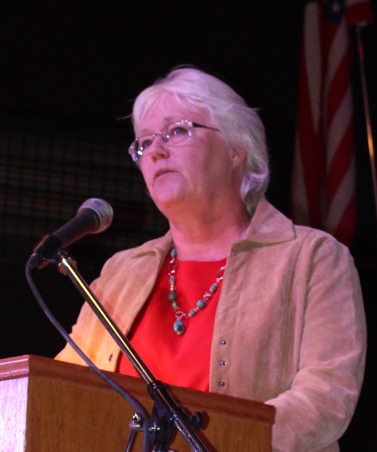 Commissioner Cindy McLoud, Republican and incumbent for Commissioner's Position