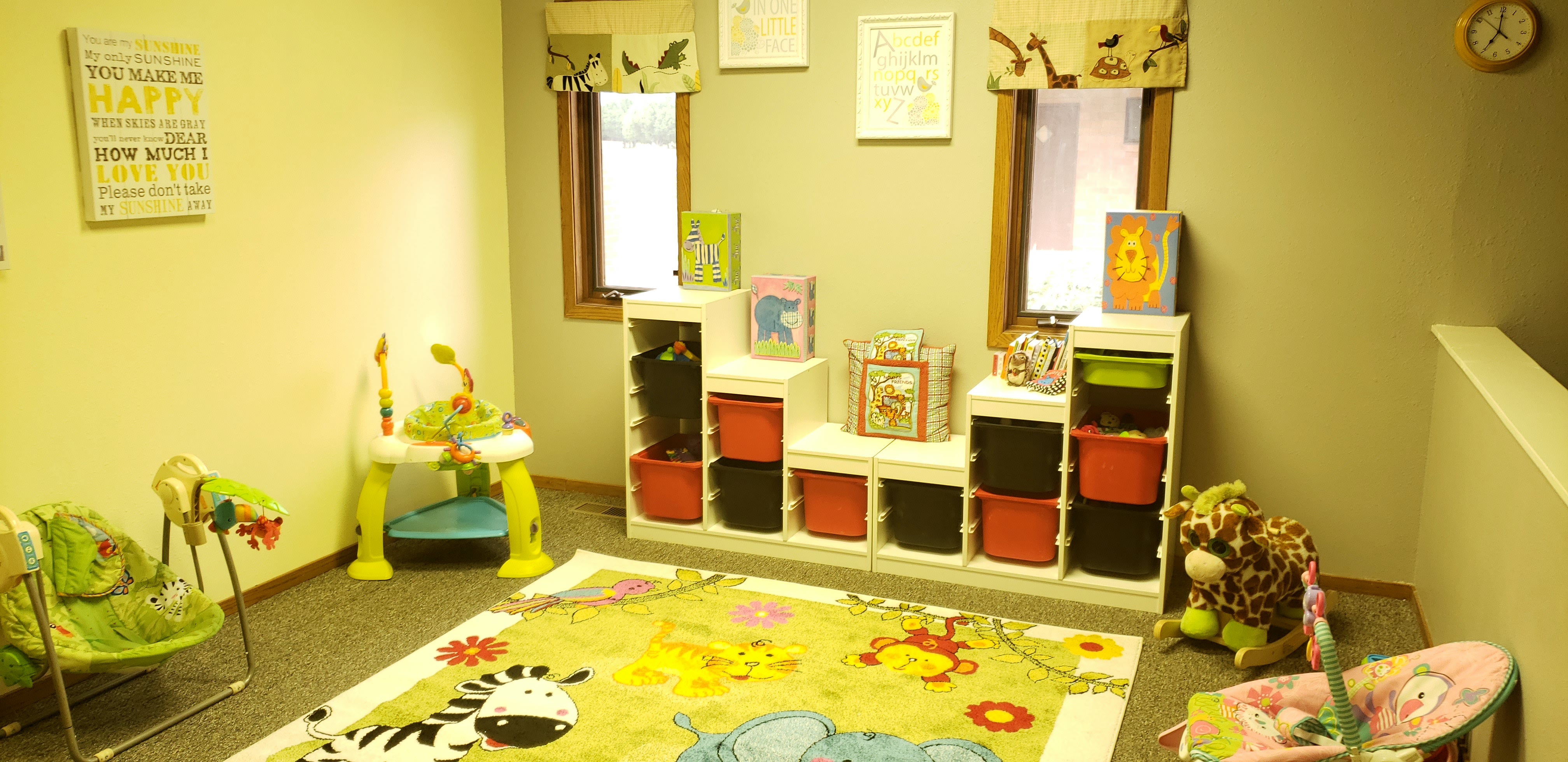 Infant room in the LLLCC Childcare Center in Eads Colorado