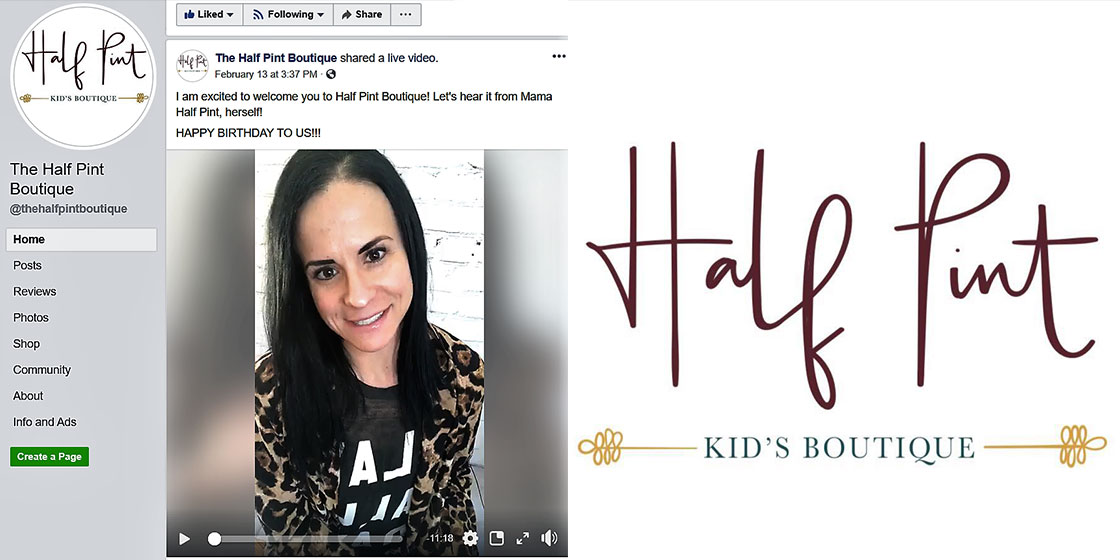 Half Pint - Kids Boutique