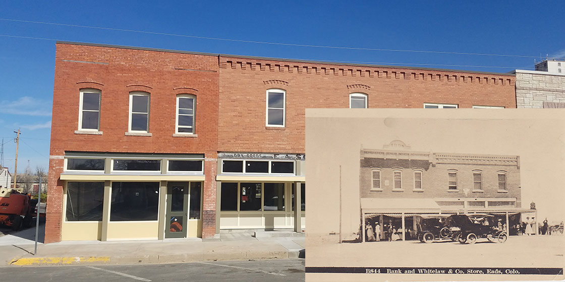 Murdock Building Before and After