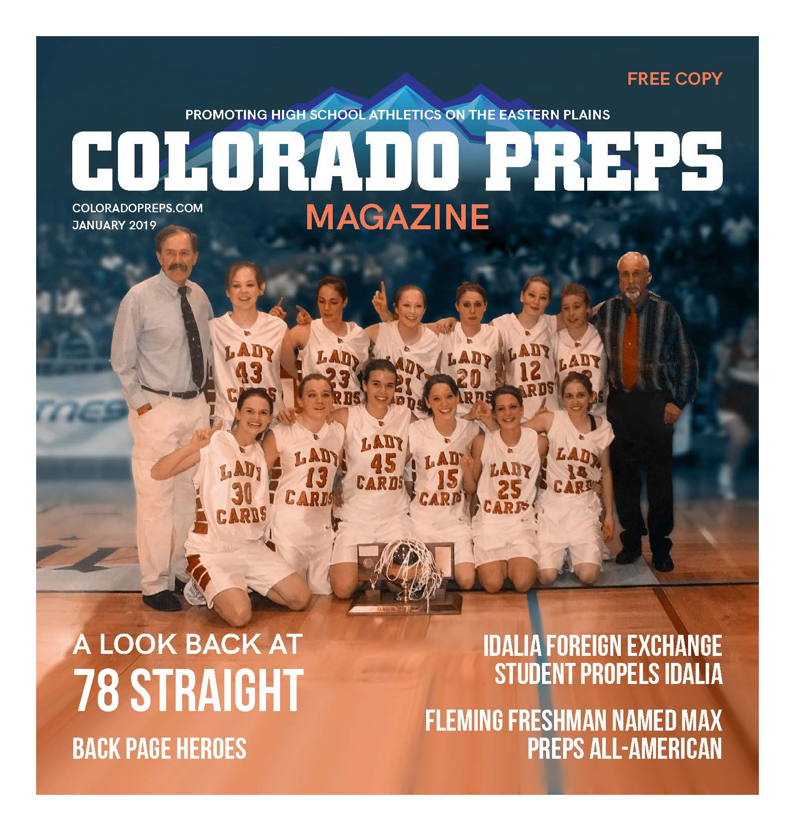 Colorado Preps January Magazine