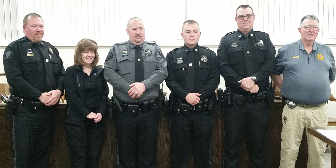 Kiowa County Sheriff's Office Sworn In