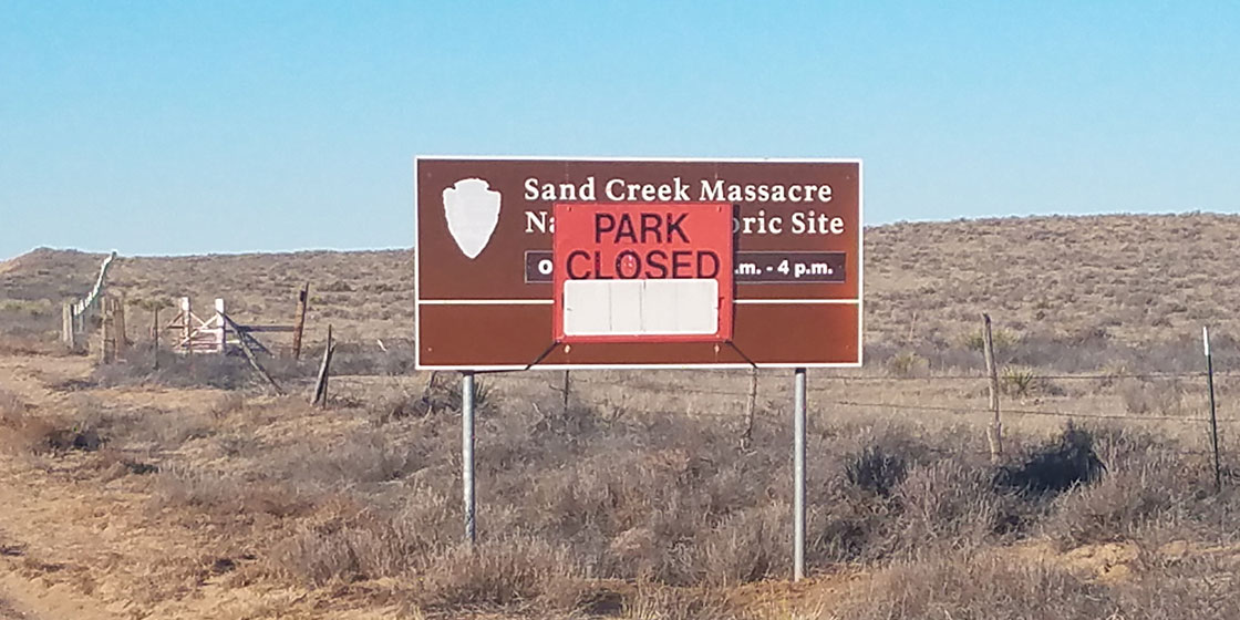 Sand Creek Massacre Park Closed for Government Shutdown