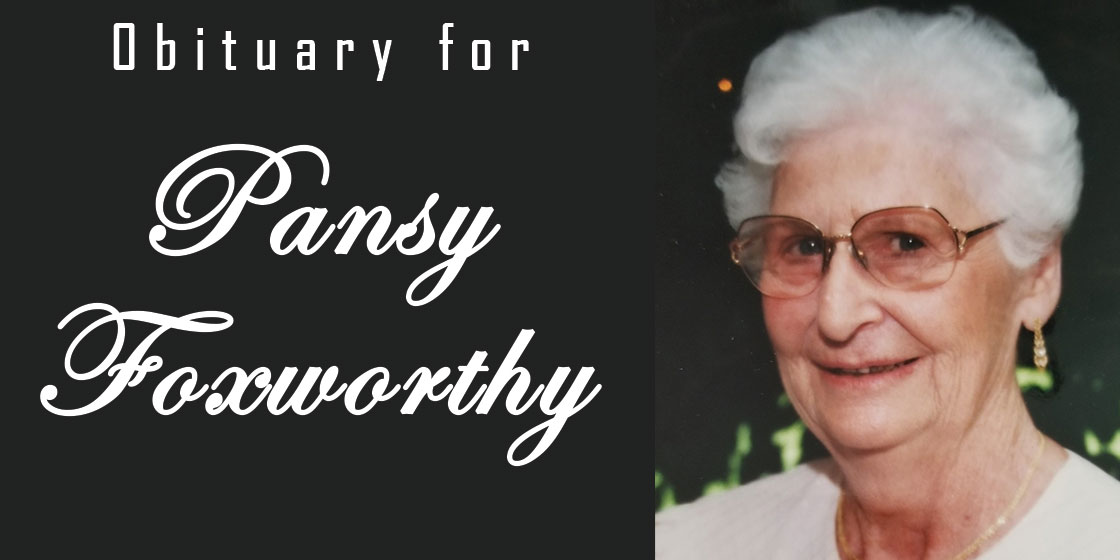 Obituary for Pansy Foxworthy