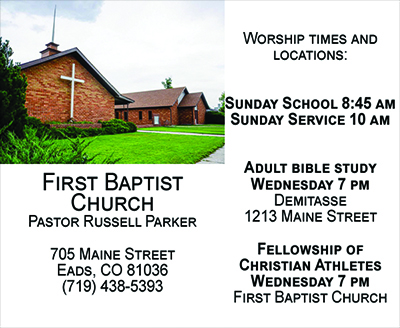 First Baptist Directory Ad