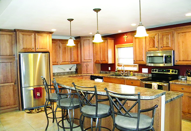 Kitchen designed by Ordway Building Supply