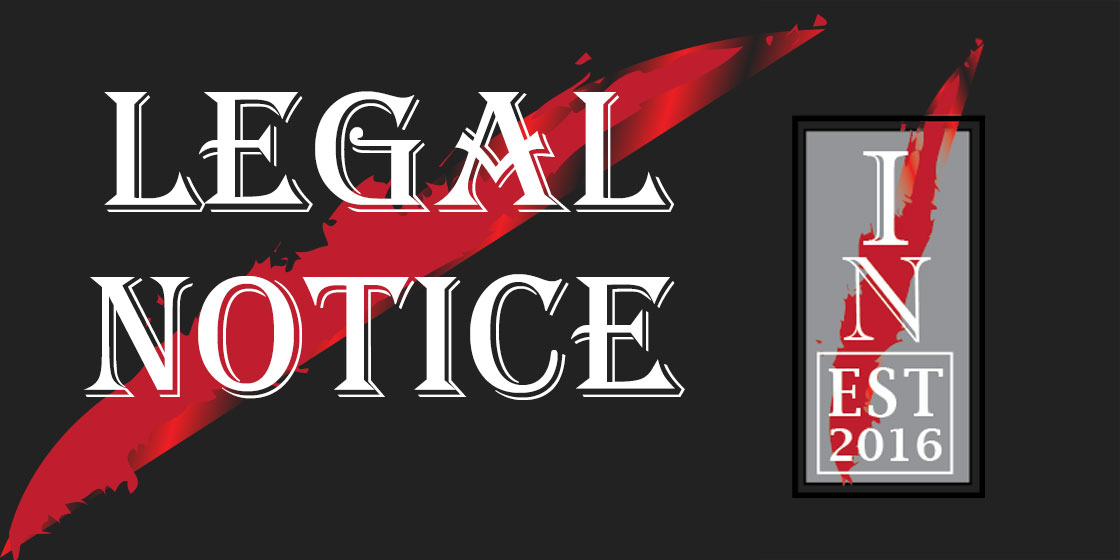 Kiowa County Independent Legal Notice