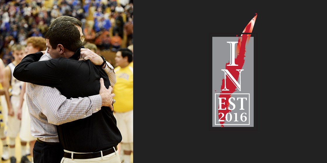 The Master teaches the Student….head coaches Jim Trahern (Kit Carson) and Randy Wilson (Wiley) share a moment of mutual respect as Trahern's Wildcats defeated Wilson's Panthers in the Southeastern Regional championship on Saturday in La Junta.  Wilson was a former player for Trahern at Kit Carson