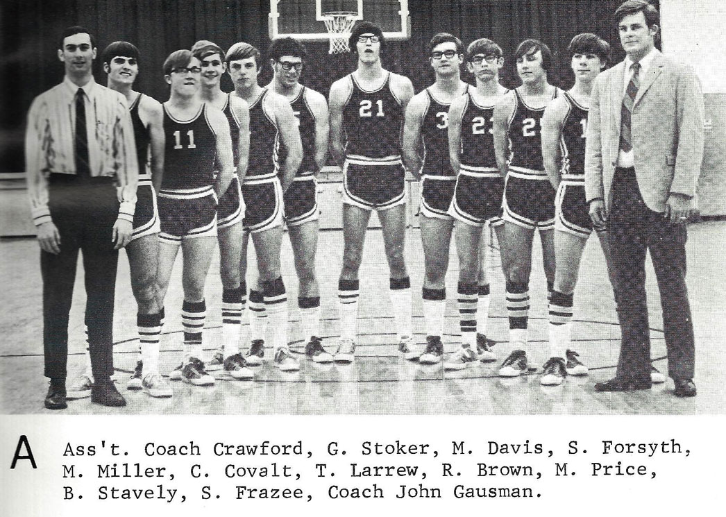 1972 - Assistant Coach Crawford