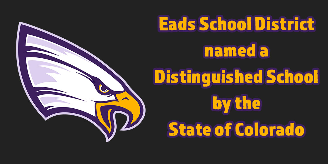 Eads School named Distinguished by State of Colorado