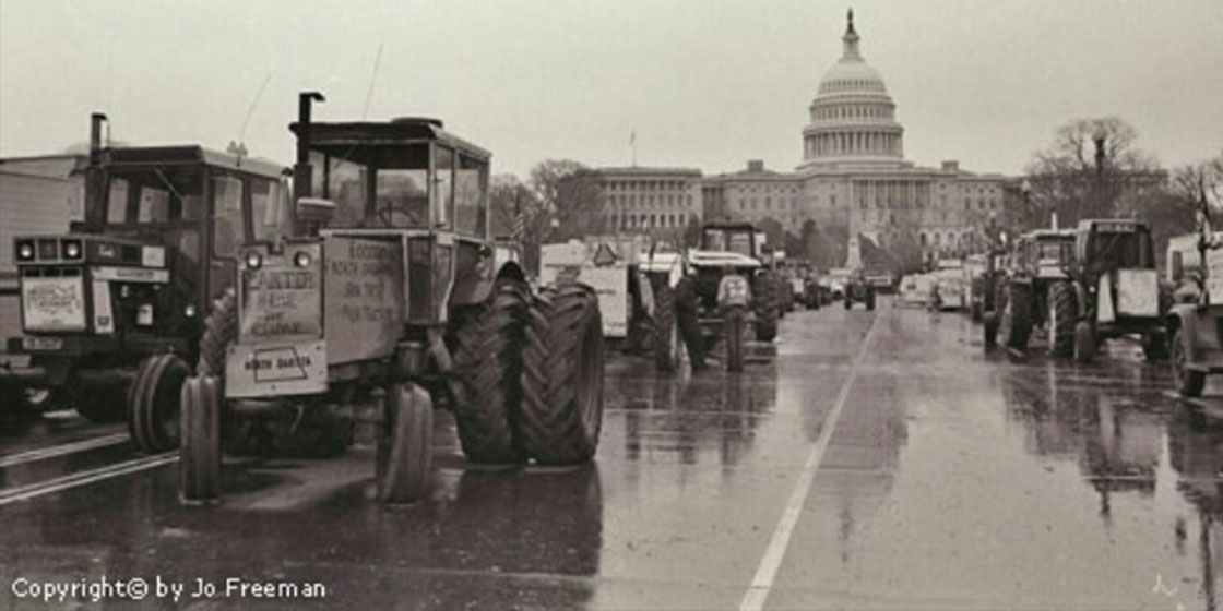 1979- Farmers Occupy the Mall-PHOTO CREDIT JO FREEMAN