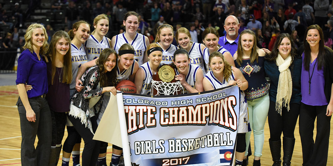 Kit Carson Lady Wildcats 1A Colorado State Champions - Photo Credit WildcatPridePhoto.com