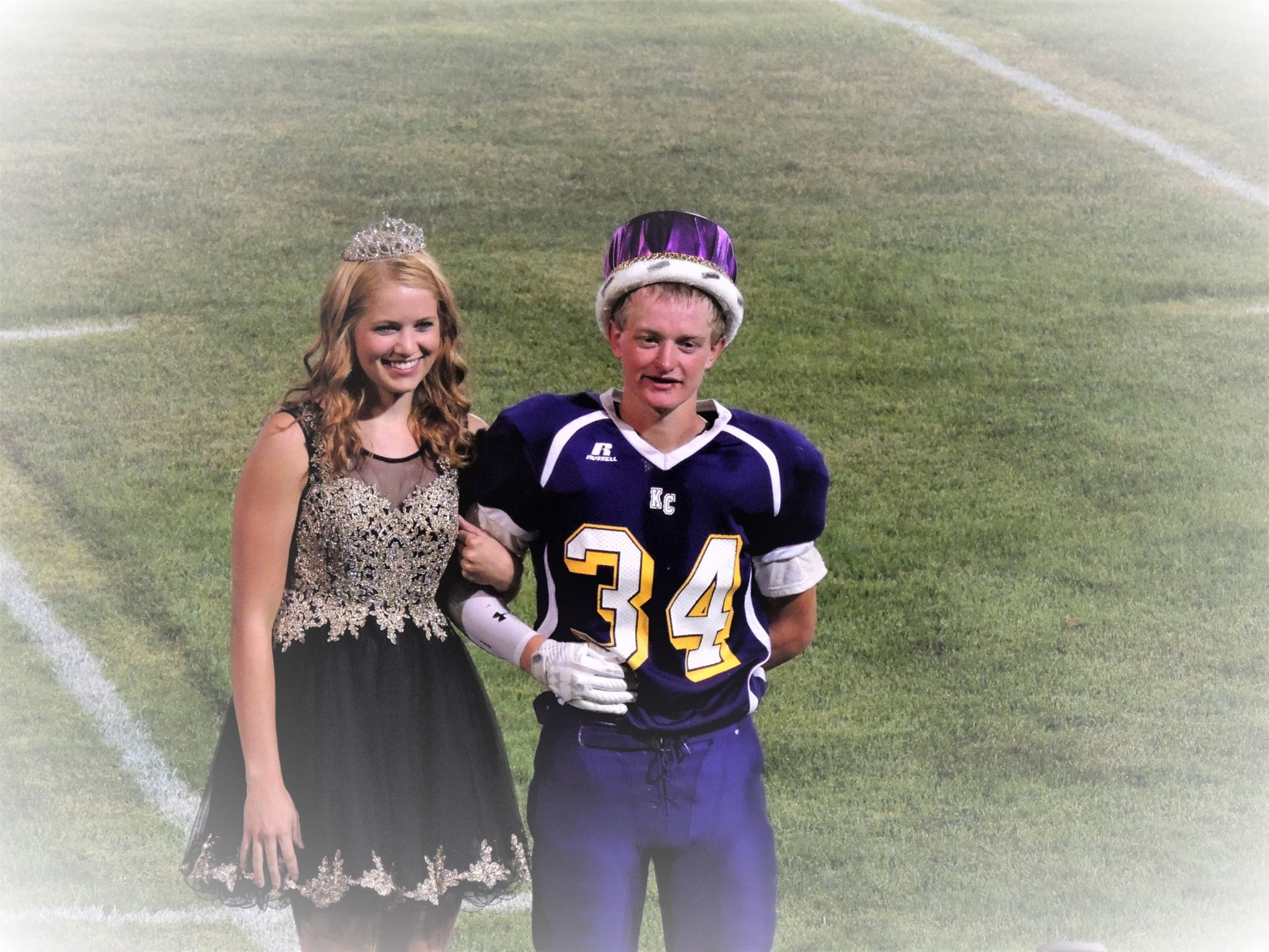 At the football game Josie Hornung was crowned Homecoming Queen and Chris Bryan was crowned King.
